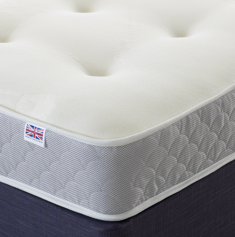 Carnation Roll and Rest Memory Foam Sprung Mattress from £99